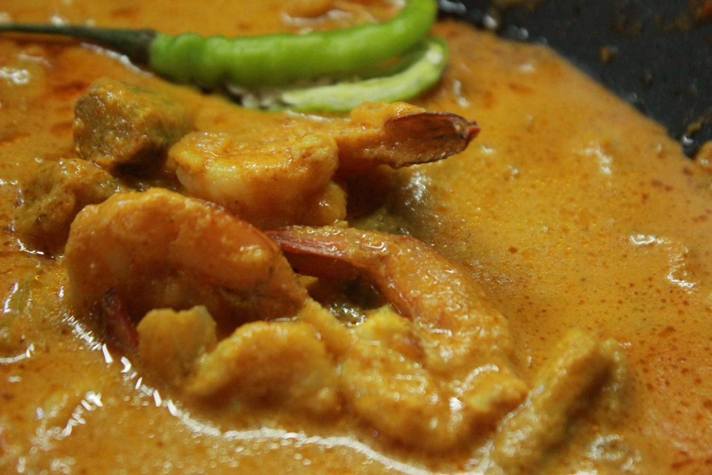 Goan Prawn Curry with Drumsticks